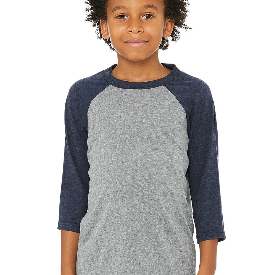Kids Baseball Tees-Lola Monroe Boutique