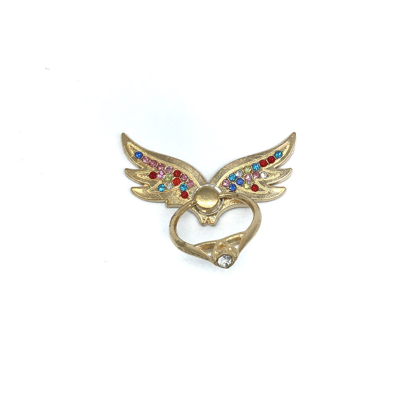 Bling Phone Grip Wings-Lola Monroe Boutique