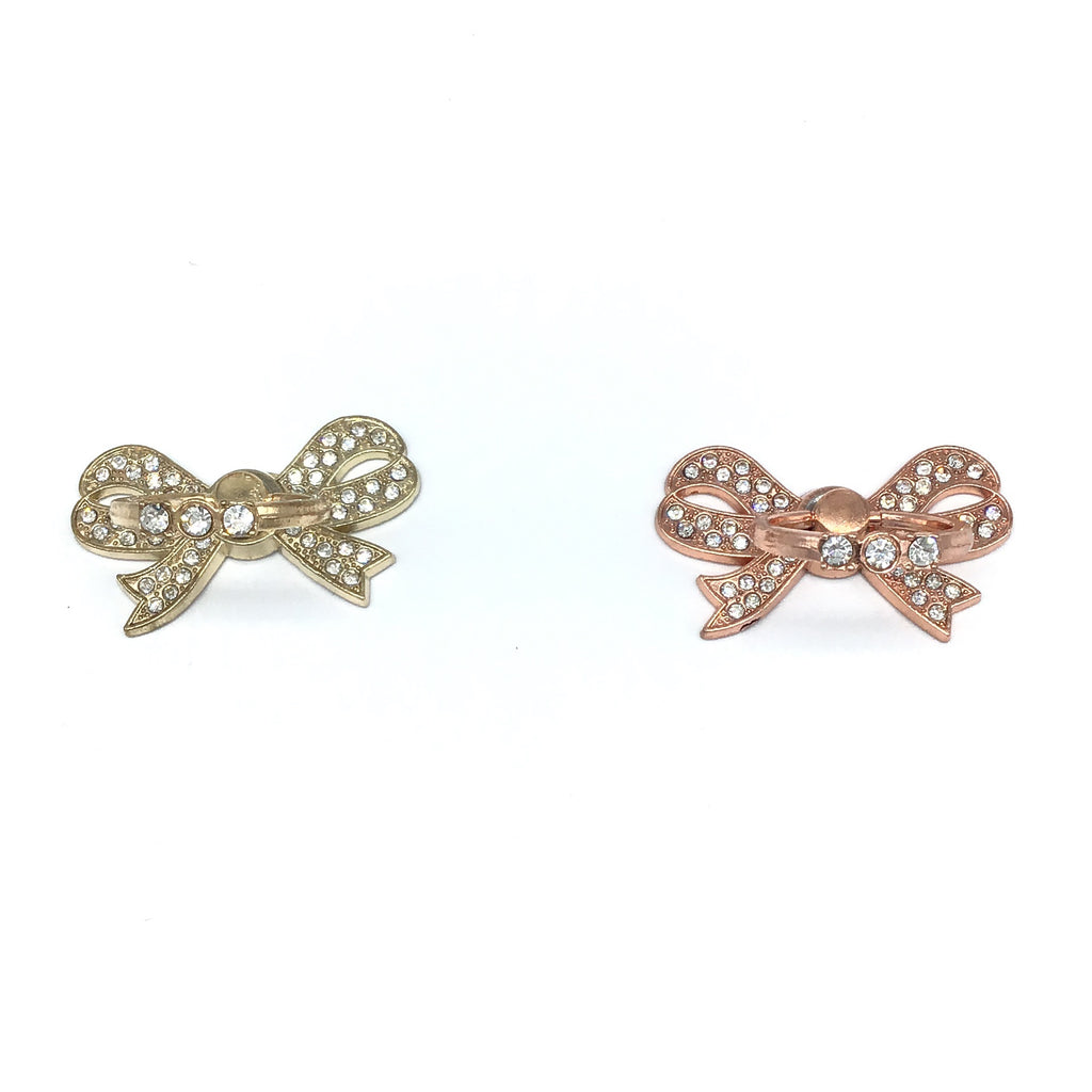 Bling Phone Grip Bow-Lola Monroe Boutique