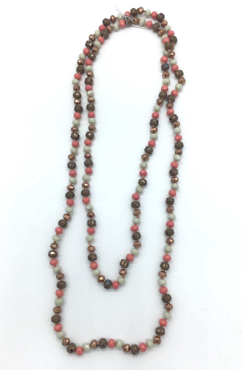 Beaded Necklace-Lola Monroe Boutique