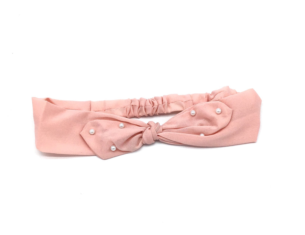 Pretty in Pearls Headband (Multiple Colors Available)-Lola Monroe Boutique