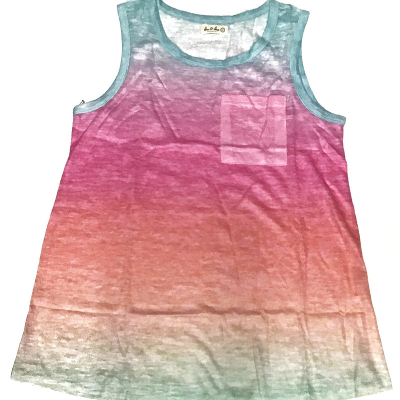 Ombre Tank Top-Lola Monroe Boutique