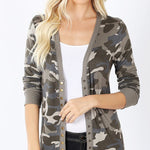 Camo Summer Cardigan-Lola Monroe Boutique