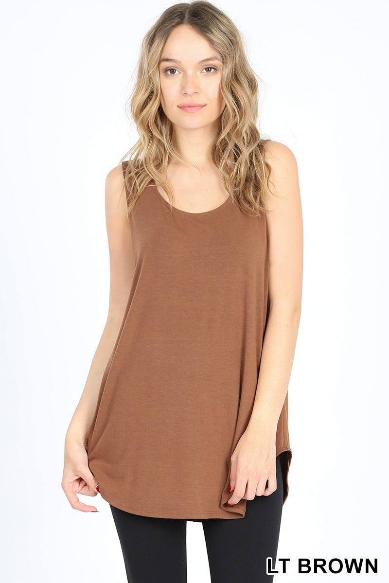 Relaxed Fit Tank (Fall Colors)-Lola Monroe Boutique