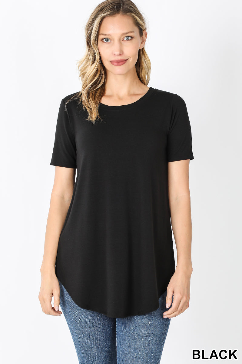 L.B.T. (Little Black Top)-Lola Monroe Boutique