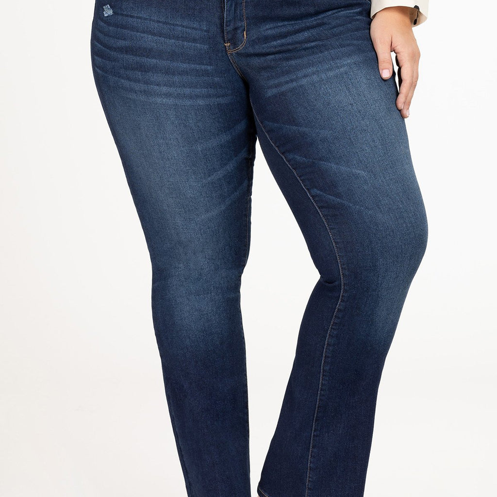 Royalty Slim Bootcut Jeans-Lola Monroe Boutique