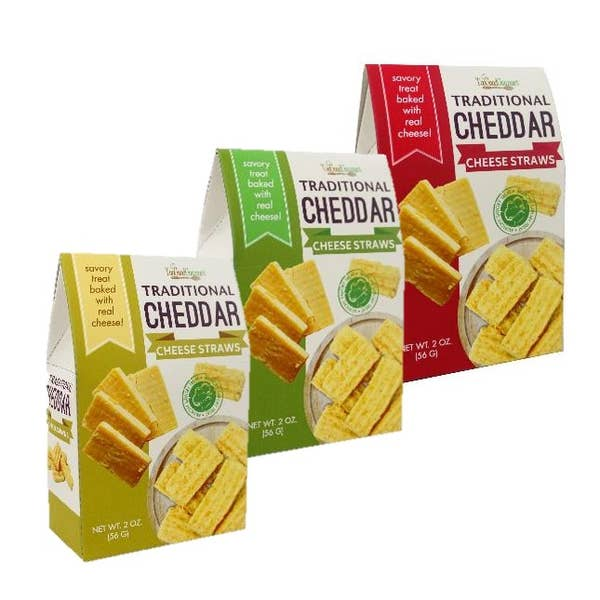 Cheddar Cheese Straws-Lola Monroe Boutique
