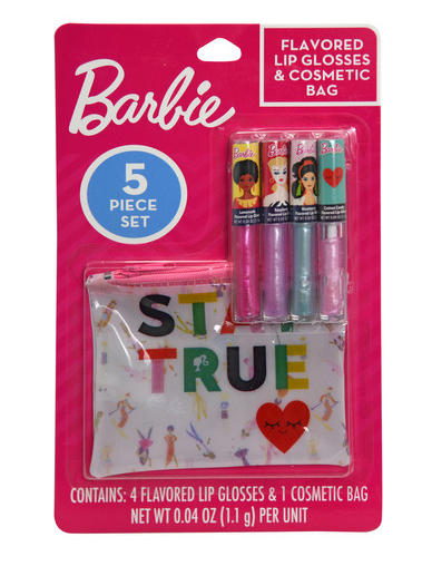 Barbie Flavored Lip Gloss with Pouch-Lola Monroe Boutique