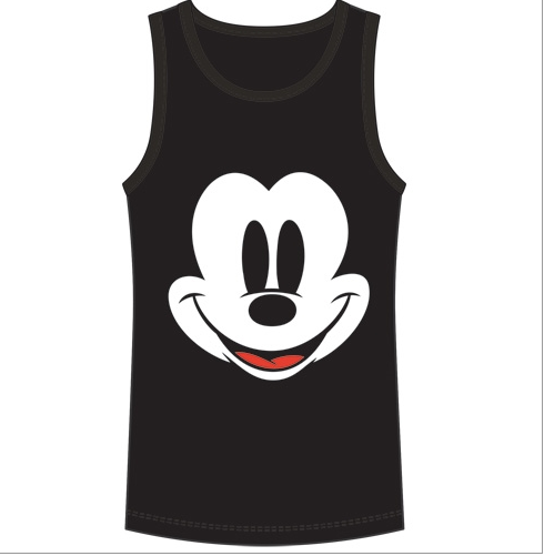 Disney Unisex Sizing Mickey Mouse Face Tank Top-Lola Monroe Boutique