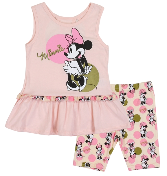 Disney Minnie Mouse Kids Short Set-Lola Monroe Boutique