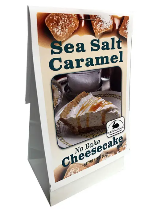 No Bake Sea Salt Caramel Cheesecake Mix-Lola Monroe Boutique