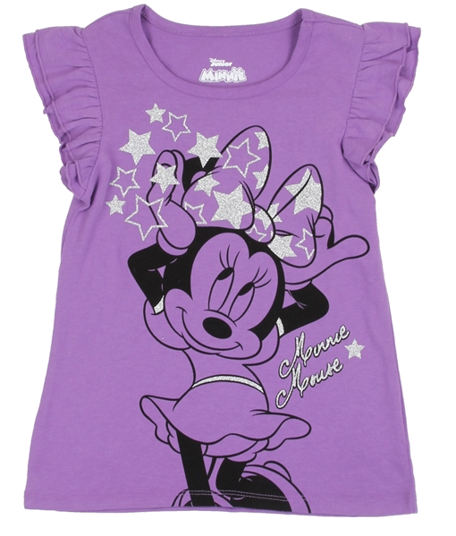 Disney Minnie Mouse Kids Shirt-Lola Monroe Boutique