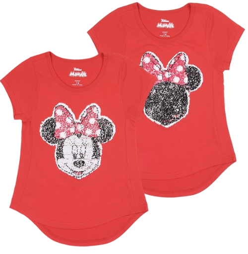 Disney Minnie Mouse Youth Flipsy Shirts-Lola Monroe Boutique