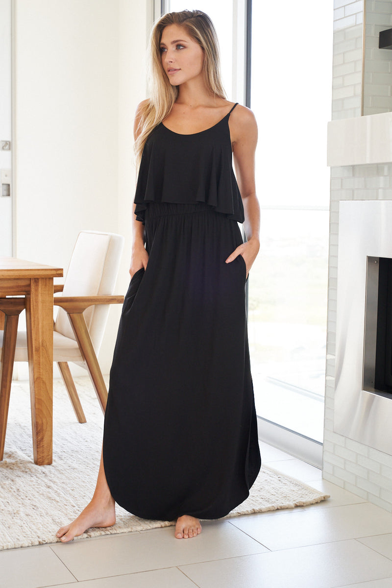 Flirting with Fashion Maxi Dress-Lola Monroe Boutique
