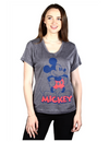 Junior Sizing Disney Mickey Mouse V Neck Shirt-Lola Monroe Boutique