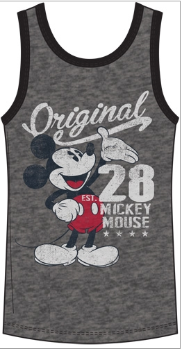Disney Unisex Sizing Original Mickey Tank Top-Lola Monroe Boutique