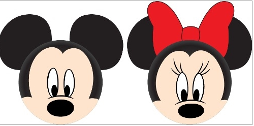 Disney Mickey & Minnie Mouse Faces Antenna Toppers-Lola Monroe Boutique