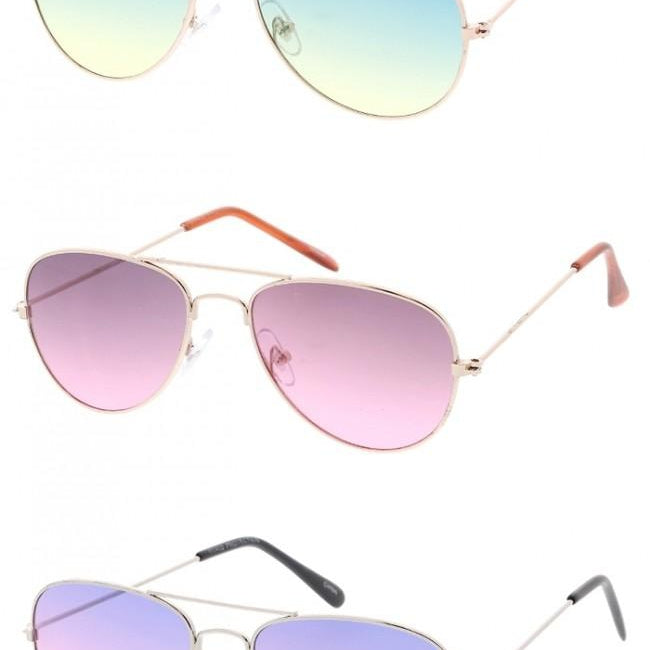 Sweet P Kids Aviator Sunglasses-Lola Monroe Boutique
