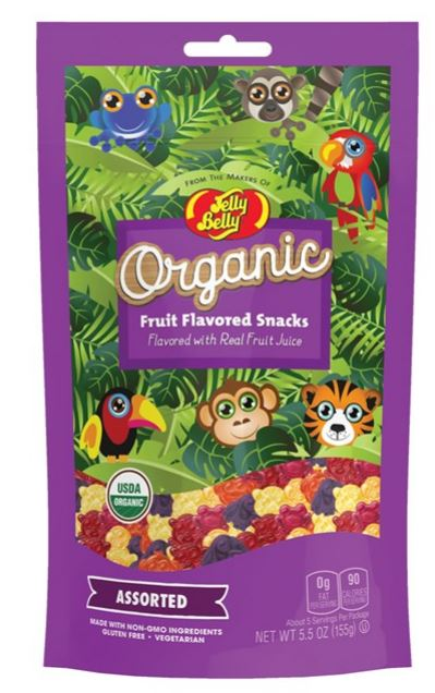 Jelly Belly Organic Fruit Flavored Snacks-Lola Monroe Boutique