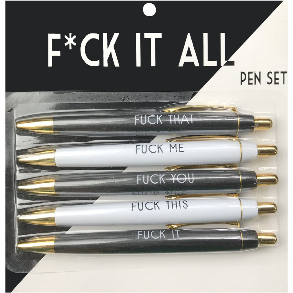 Funny Pen Sets-Lola Monroe Boutique