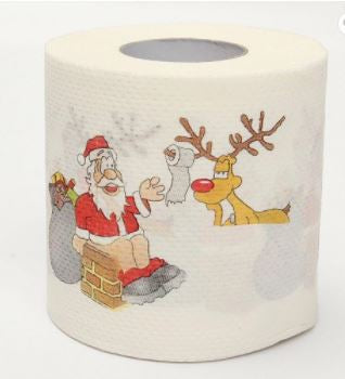 Holiday Toilet Paper-Lola Monroe Boutique