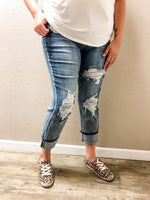 Judy Blue Bleach Please! Boyfriend Jeans-Lola Monroe Boutique