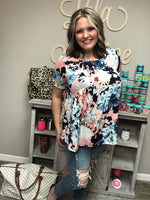 """Just Peachy"" Baby Doll Tunic/Top-Lola Monroe Boutique"