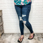 "Judy Blue ""What I'm Made of"" Mid-Rise Skinny-Lola Monroe Boutique"