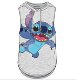 Junior Sizing Disney Stitch Tank Pullover Hoodie-Lola Monroe Boutique