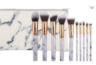 Make Up Brushes & Pouch-Lola Monroe Boutique