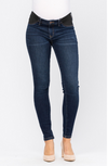 "Judy Blue ""Oh Baby"" NonDistressed Skinny Maternity Denim-Lola Monroe Boutique"