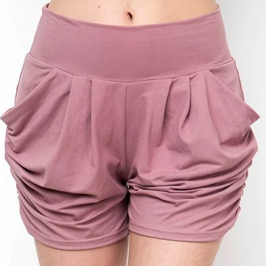 Junior's Cut Harem Shorts (Multiple Colors)-Lola Monroe Boutique