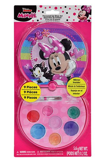 Disney Minnie Mouse & Princess Lip Gloss with Compact-Lola Monroe Boutique