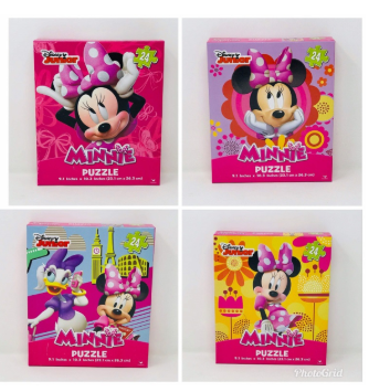 Disney Minnie Mouse 24 Piece Puzzle-Lola Monroe Boutique