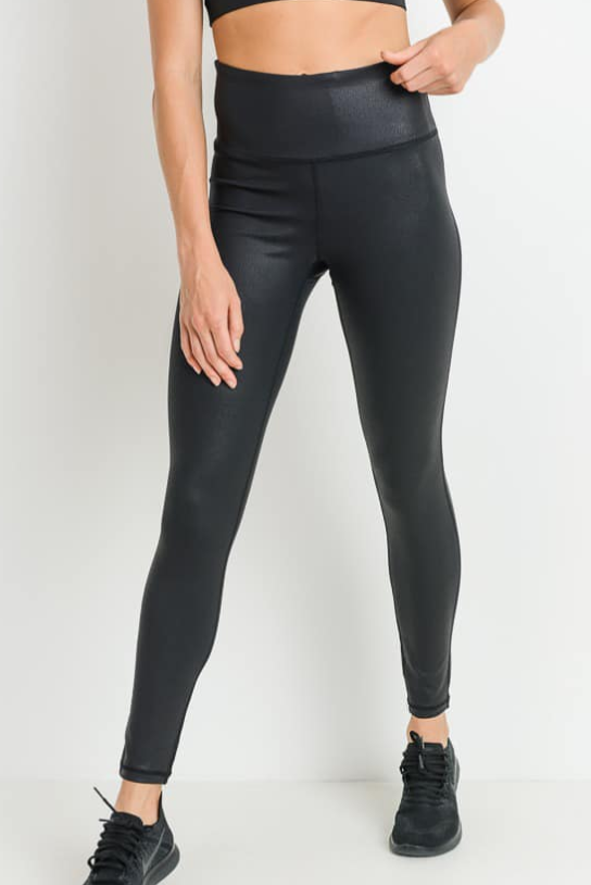 Pop That Booty Pebble Leggings-Lola Monroe Boutique