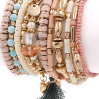 Stacker Bracelet Set-Lola Monroe Boutique