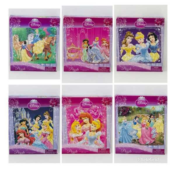 Disney Princess 100 Piece Puzzles-Lola Monroe Boutique