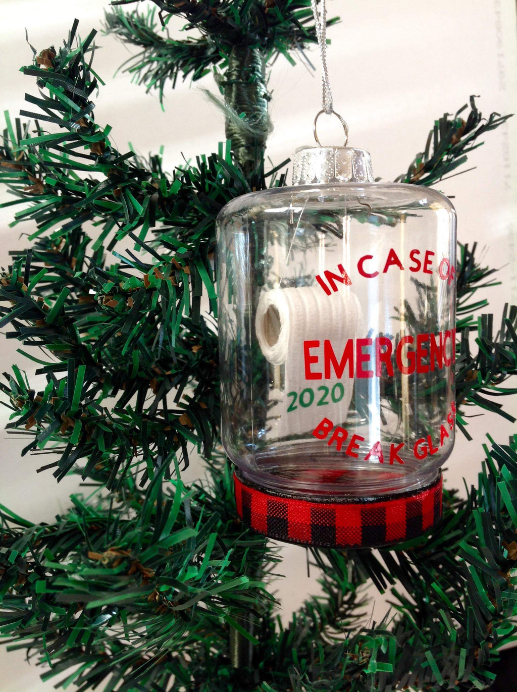 In Case of Emergency Ornament-Lola Monroe Boutique