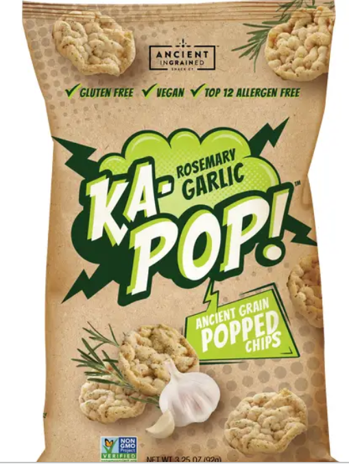 Ka-Pop Rosemary and Garlic Chips-Lola Monroe Boutique