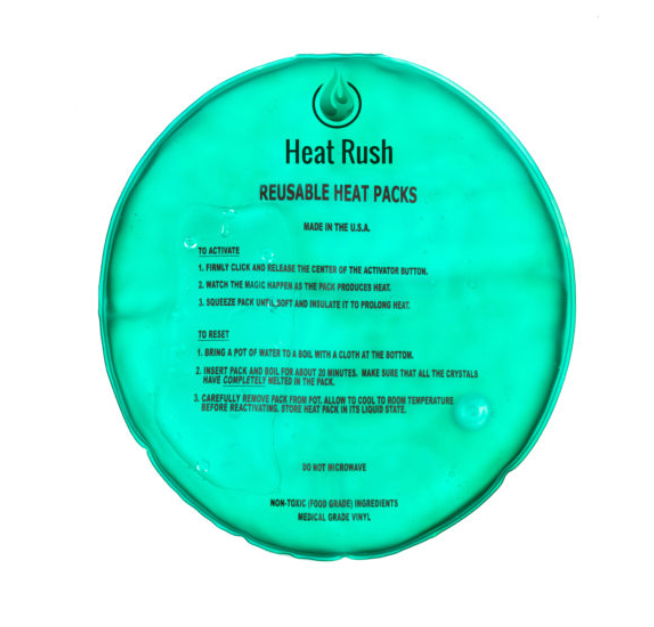 Reusable Heat Packs (10inch Round)-Lola Monroe Boutique