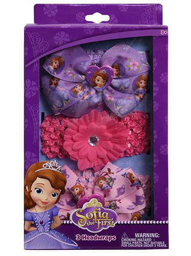 Disney Sofia the First Kids Cloth Headbands-Lola Monroe Boutique