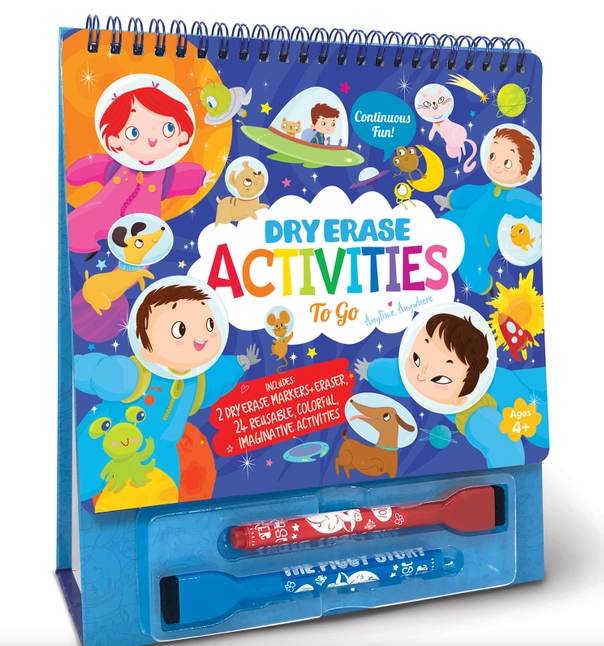 Dry Erase Activities To Go Space Adventures-Lola Monroe Boutique