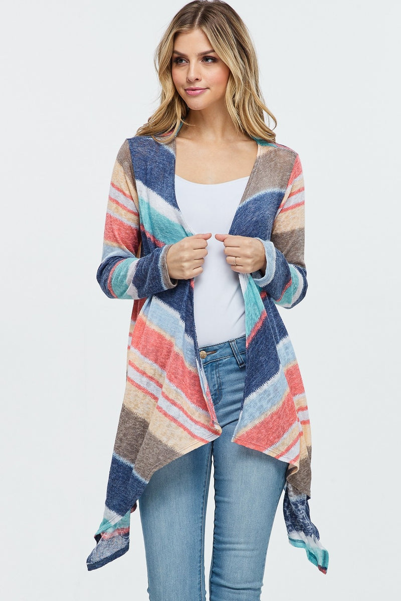 On the Dock of The Bay Cardigan-Lola Monroe Boutique
