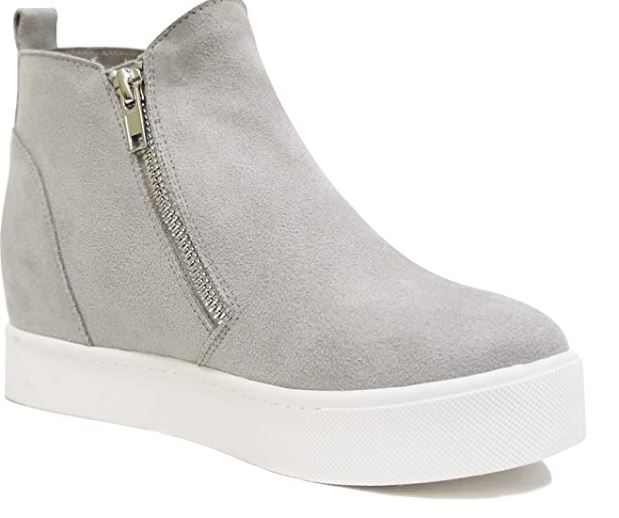 """Taylor"" Wedge Sneaker-Lola Monroe Boutique"