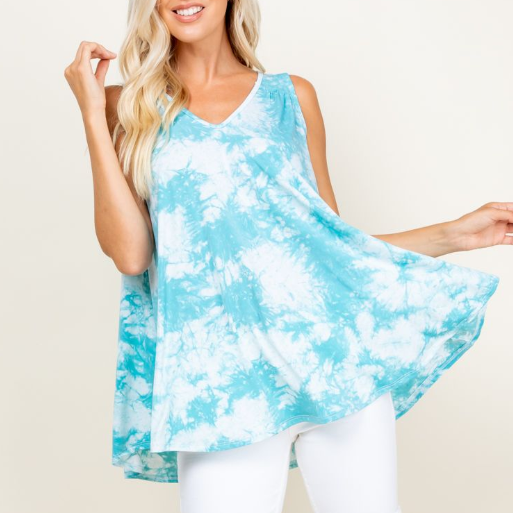Summer Dreaming Tunic Tank-Lola Monroe Boutique