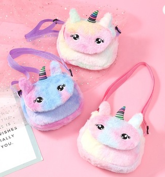 Unicorn Adjustable Strap Purse (Multiple Colors)-Lola Monroe Boutique