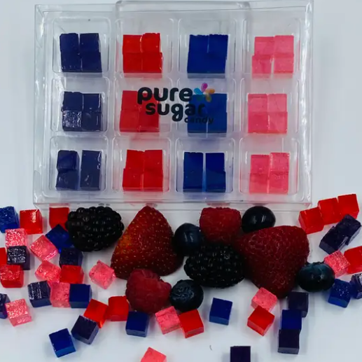 Very Berry Collection Pure Sugar Cubes-Lola Monroe Boutique