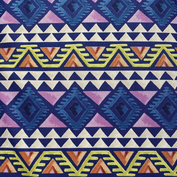 Wanderers Weekend (Blue) Cotton Fabric