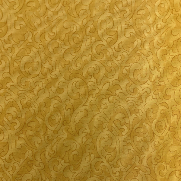 Color Wall (Yellow) Cotton Fabric