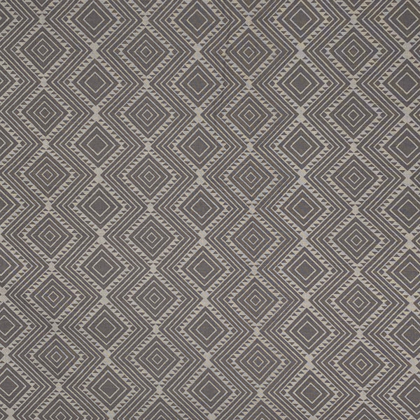 Stand Tall (Gray) Cotton Fabric
